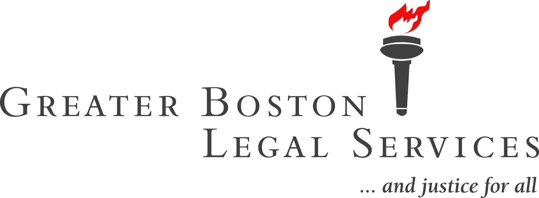 Greater Boston Legal Services torch logo